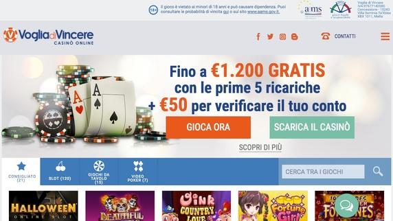 Bonus Voglia di Vincere 1200 euro